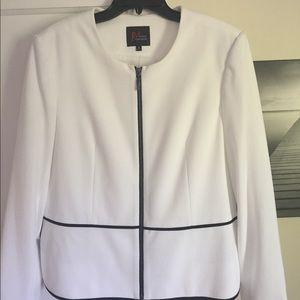White classy blazer